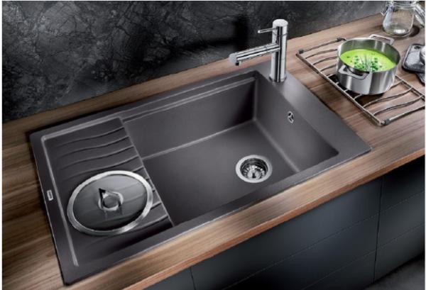 Кухонная мойка Blanco ELON XL 6S SILGRANIT PuraDur , цвет «кофе»